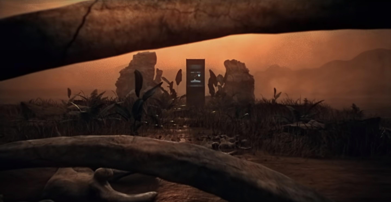 ode to the mets opening scene arcade dinosaur bones by warren fu 3d animation using cinema4d