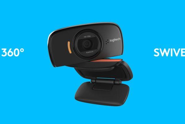 Logitech webcam reading 360 swivel